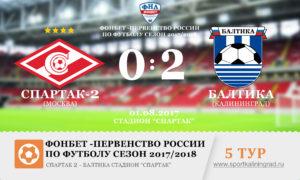 futbol-fnl-rezultat-spartak2-baltika-5-tur-2017-sportkaliningrad